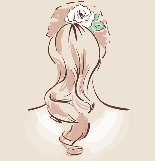 髪型ポニーテール