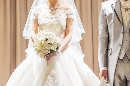 正統派「プリンセスライン」のウエディングドレスの特徴