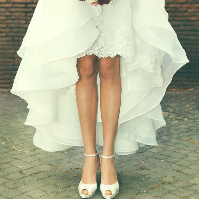 フィッシュテール型ドレス