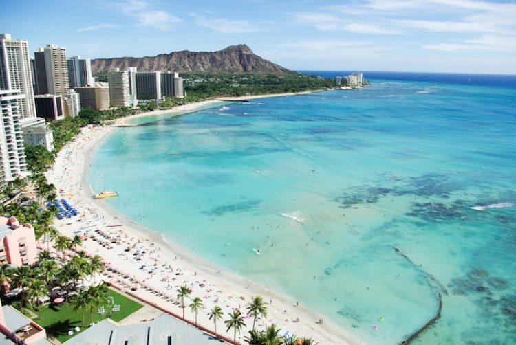 ハワイでビーチフォト