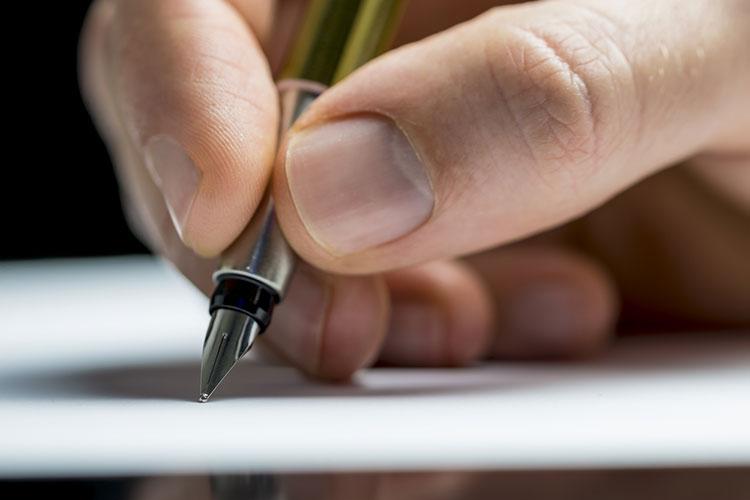 筆記用具のマナー
