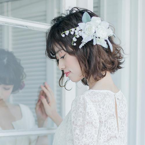 洋髪もOK!和装に似合う花嫁の髪型は?キホンを解説