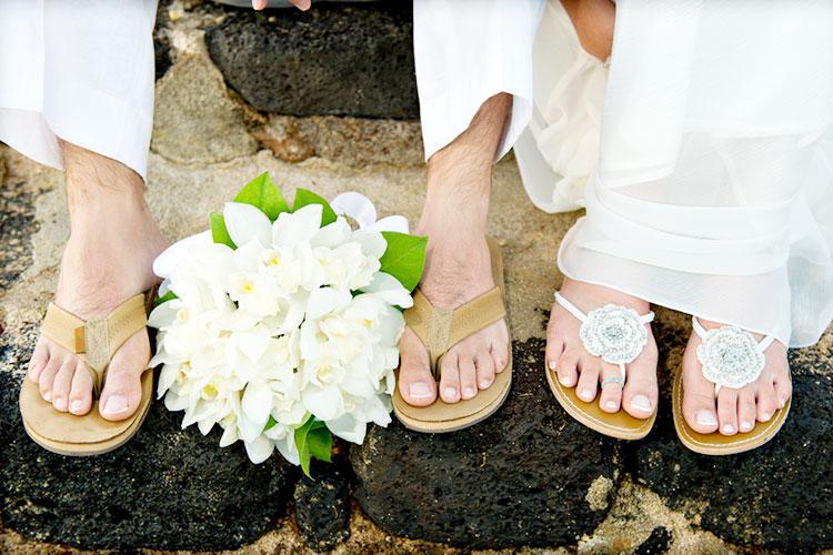 新婚旅行と海外ウェディングを一緒にする