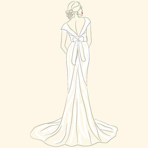 マーメイドラインのウェディングドレスとは?