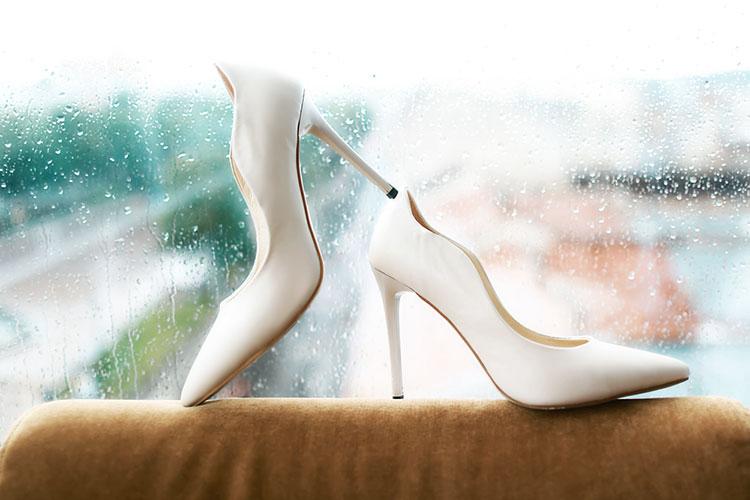 結婚式当日が雨だった花嫁さんへ