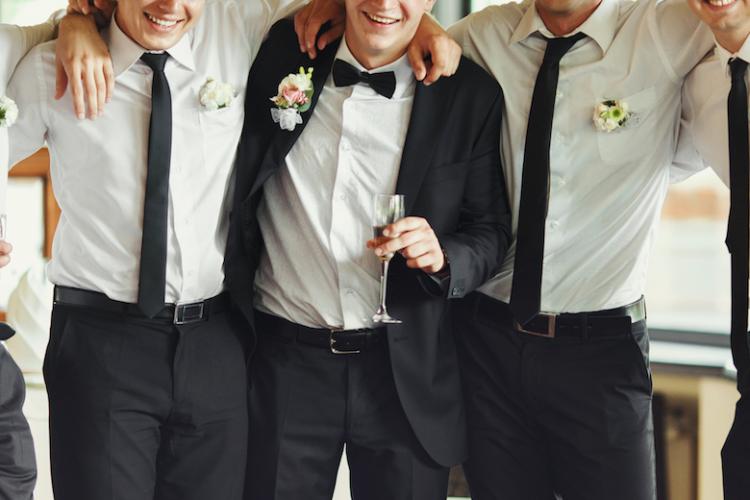 新郎 結婚式