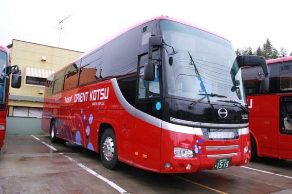 一般的な大型バスの例
