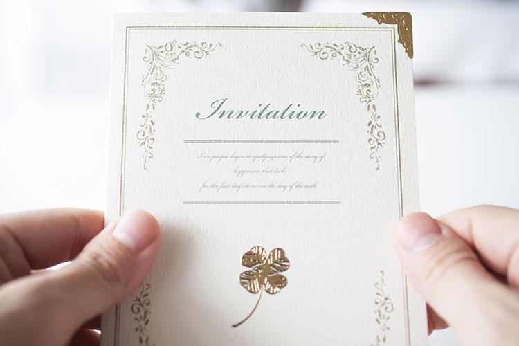 招待状・付箋のマナー