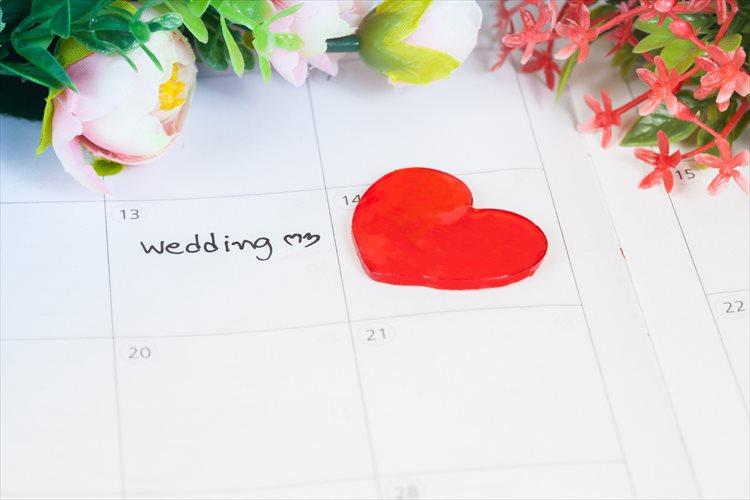 結婚式までの期間