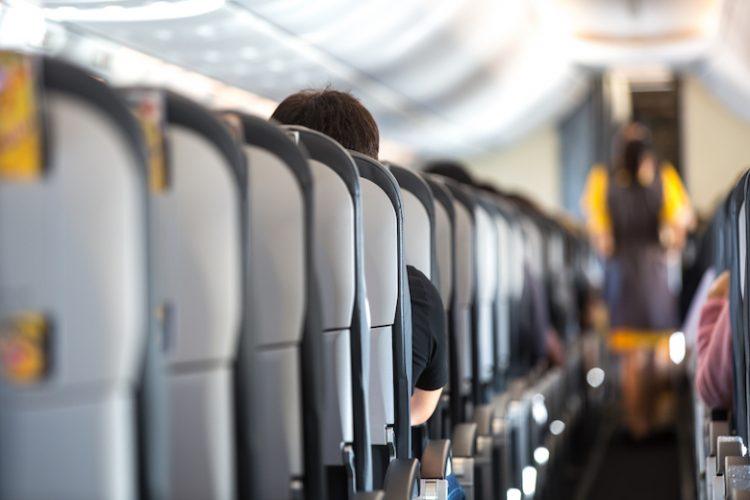 飛行機 機内