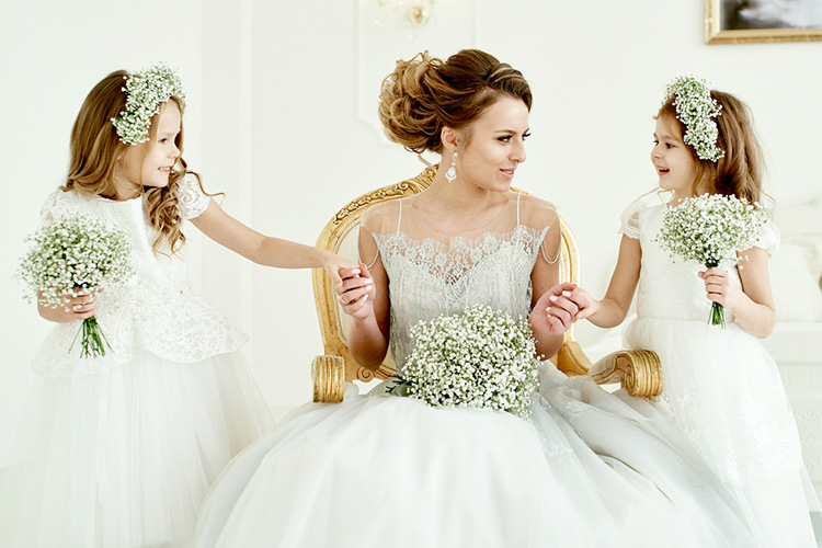 子連れ婚のおそろい衣装