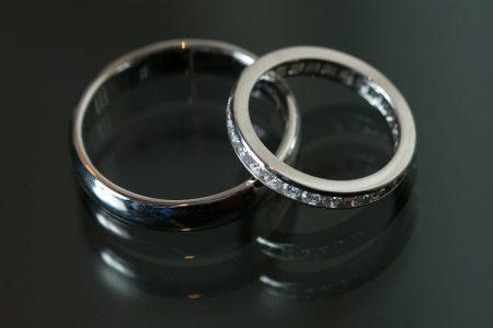 チタンの指輪