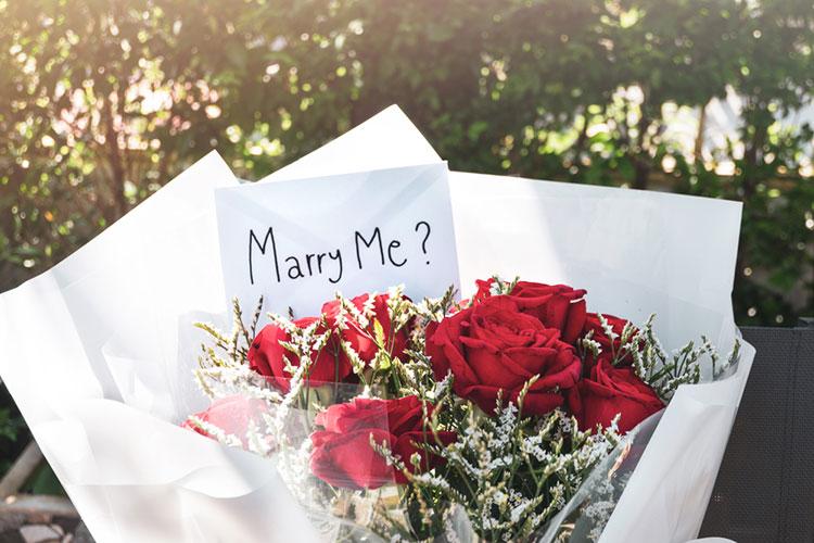 婚約指輪なしでプロポーズ