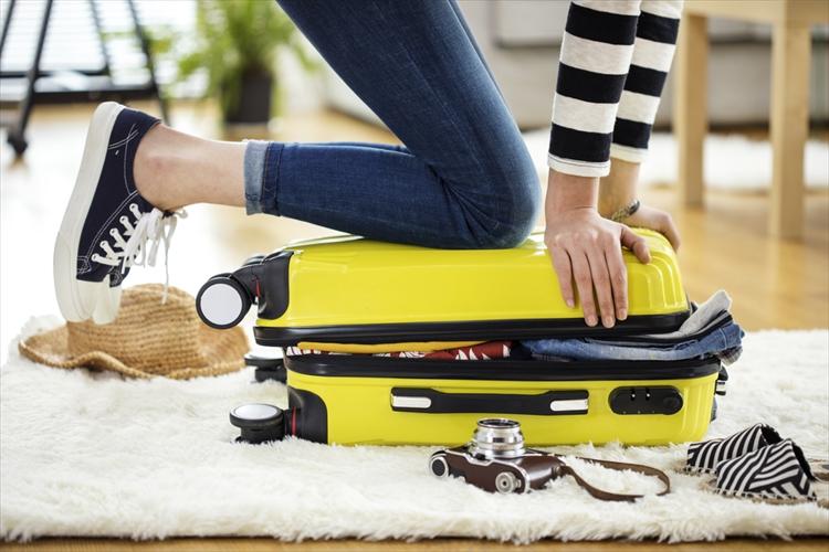 新婚旅行 お土産 スーツケース