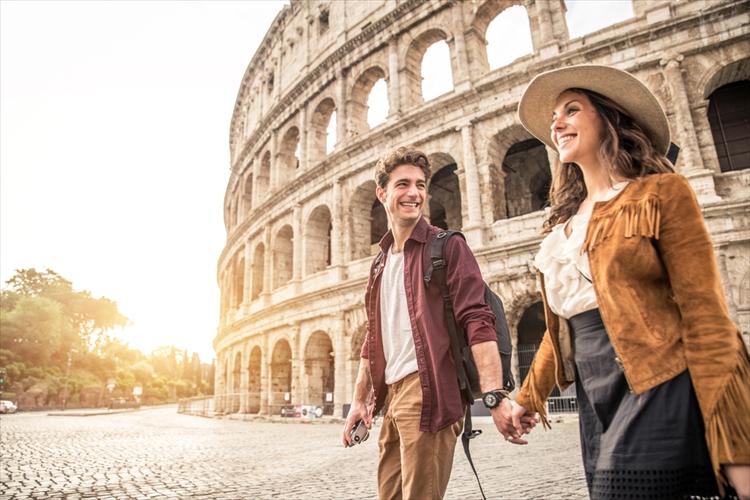 イタリアのカップル