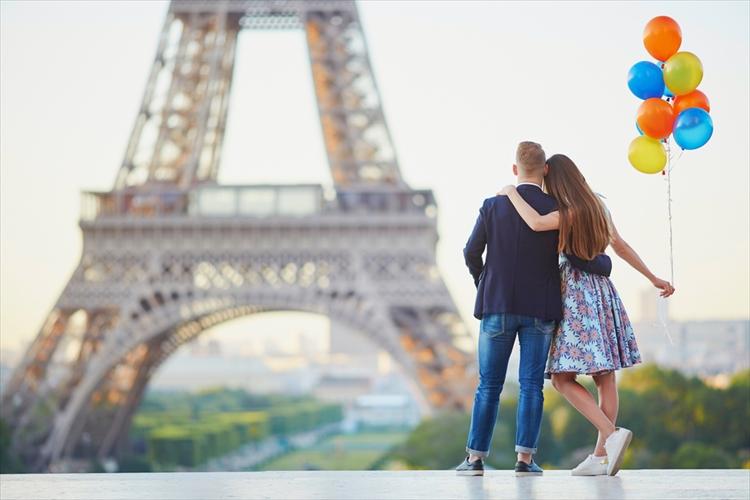 フランスのカップル