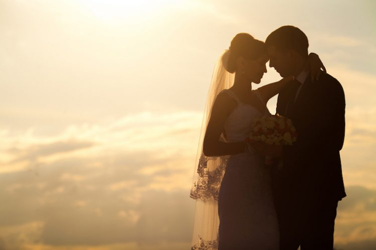 夕方 結婚式