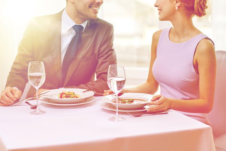 婚礼料理の試食