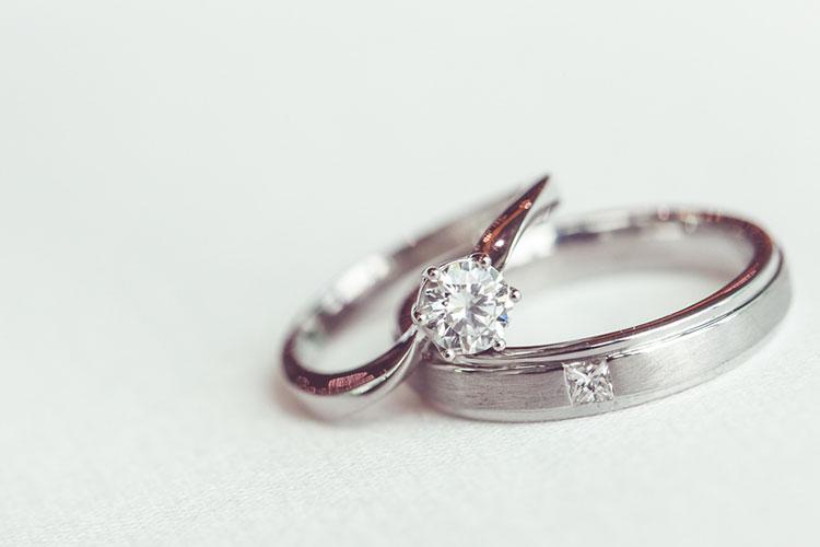 結婚指輪(ダイヤ)