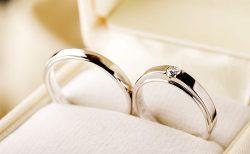 男性用結婚指輪はダイヤ無しが多い