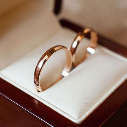 ゴールド(金)の結婚指輪