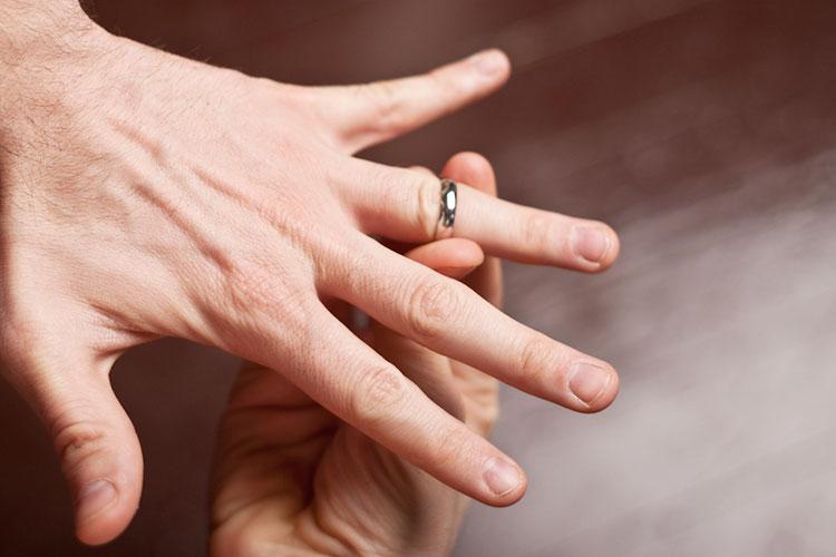 結婚指輪のサイズ(男性)