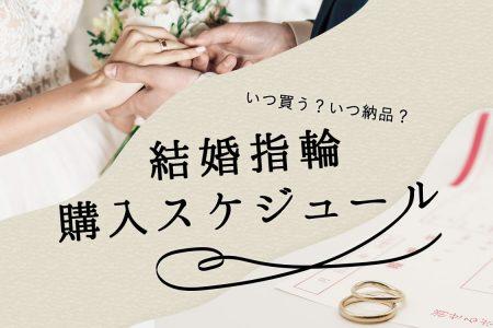 結婚指輪はいつ買う?いつから着けたらいい?ベストタイミングを知りたい!