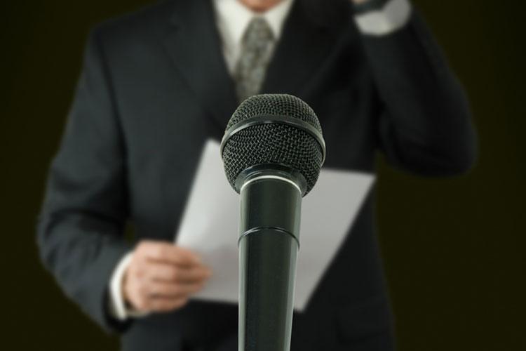 新郎のスピーチ
