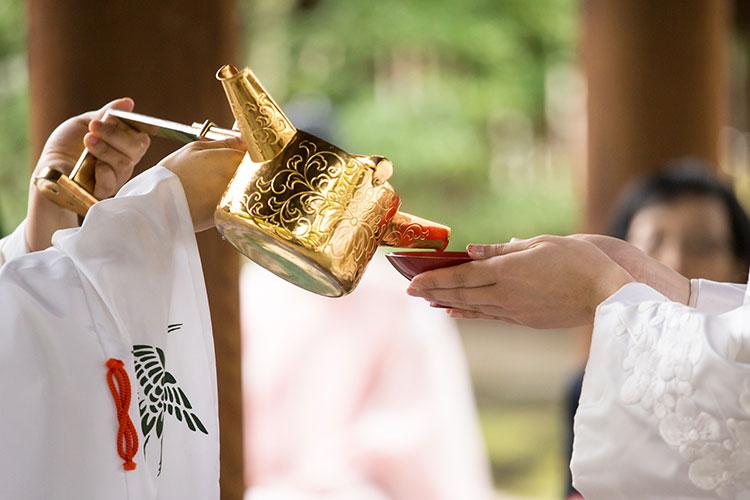 神前式の儀式
