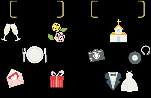 少人数結婚式の費用内容