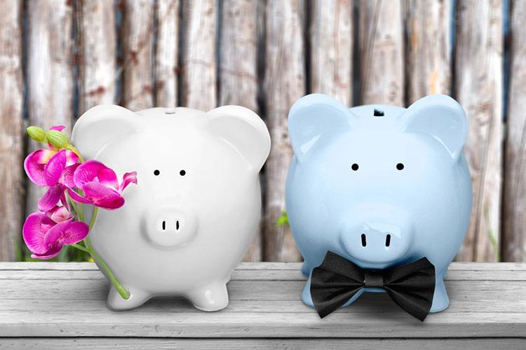 結婚式費用を貯金