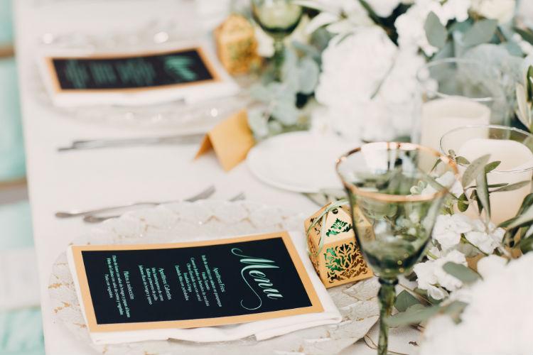 結婚式の食事メニュー