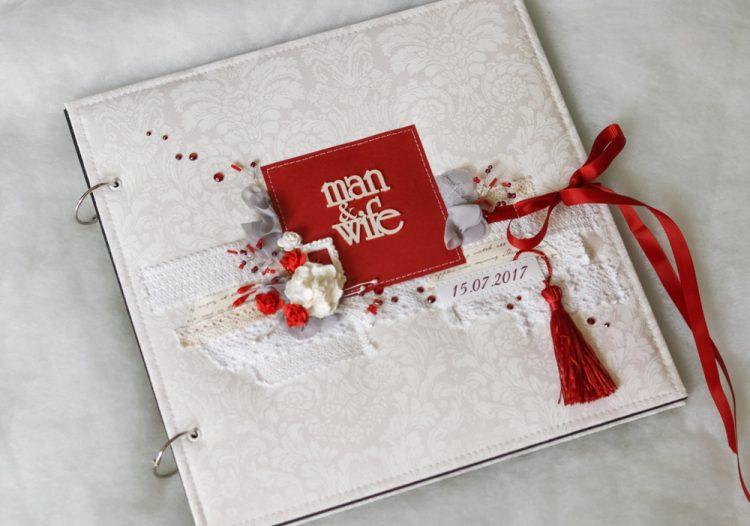 結婚式アルバムの手作りに!スクラップブックデザインアイディア