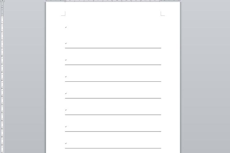 バインダータイプの芳名帳(中紙)の作り方5