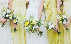 黄色がテーマカラーの結婚式