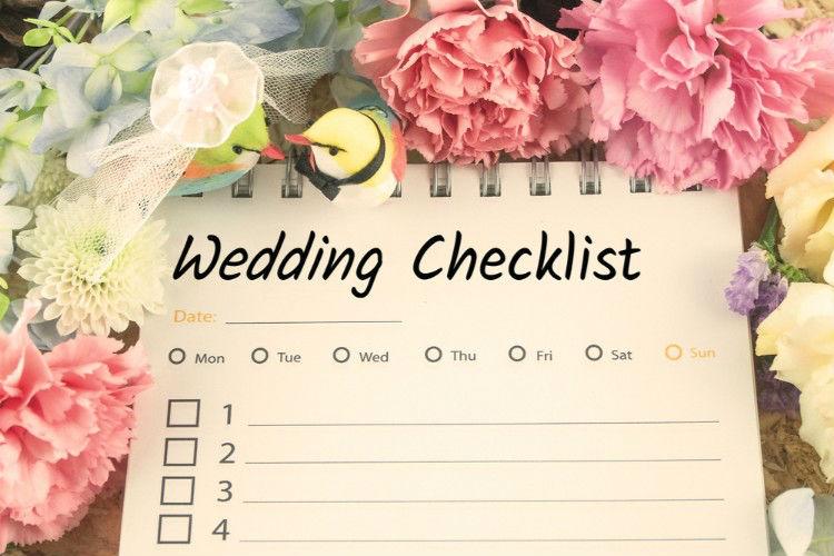 結婚式チェックリスト