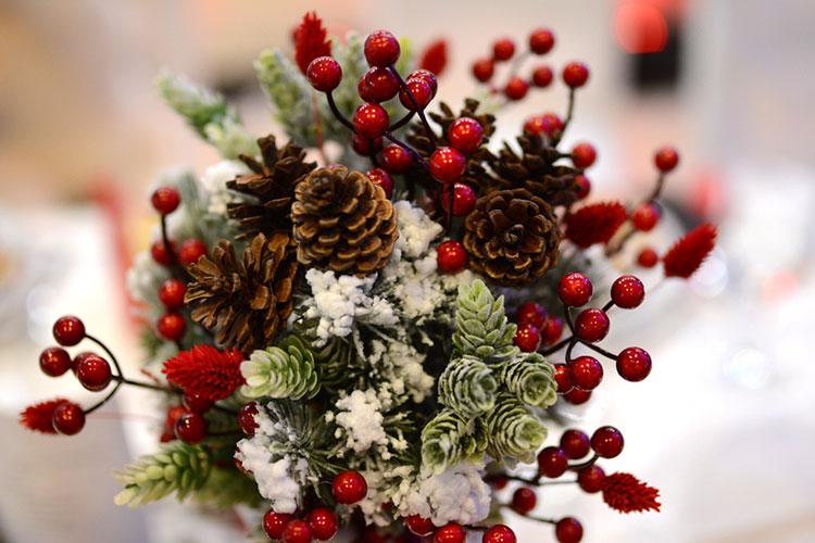 【12月】クリスマスウェディングのおしゃれブーケアイディア【冬挙式】