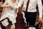 ウェディングケーキ(チョコレートケーキ)