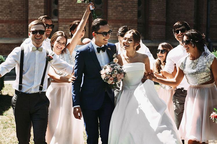 結婚式のゲスト