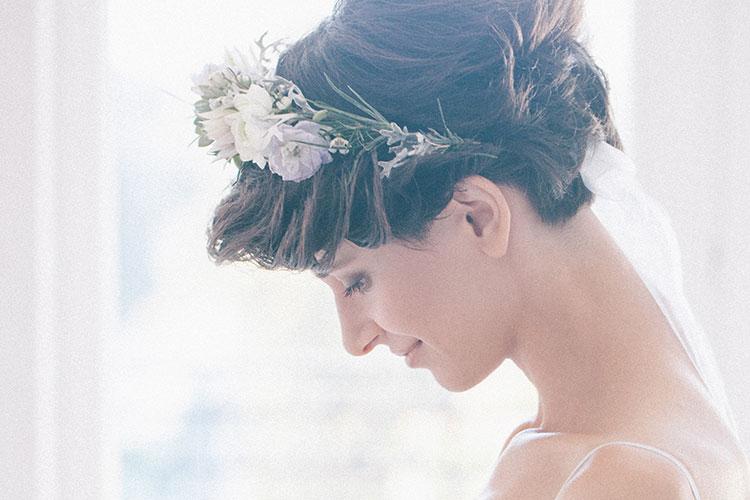 結婚式】ショートヘアは海外花嫁をお手本に♪【髪型14選