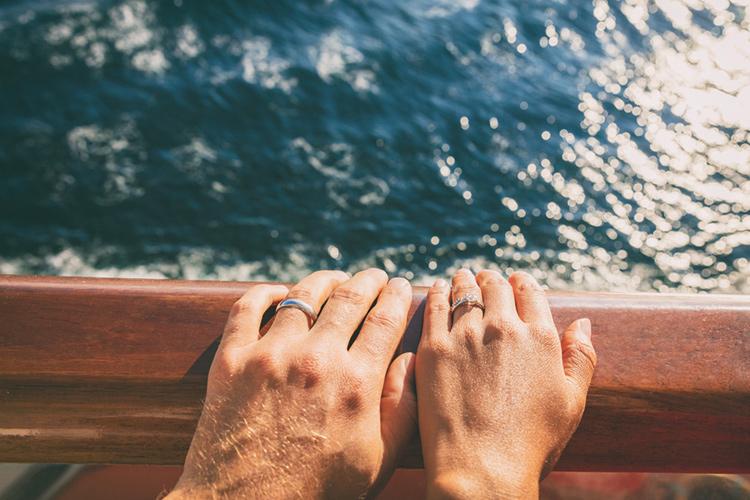 クルーズ船で結婚式