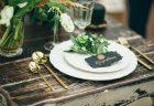 緑がテーマのテーブルコーディネート