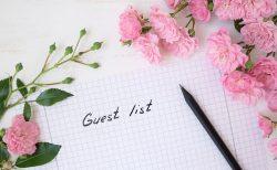 招待客リスト