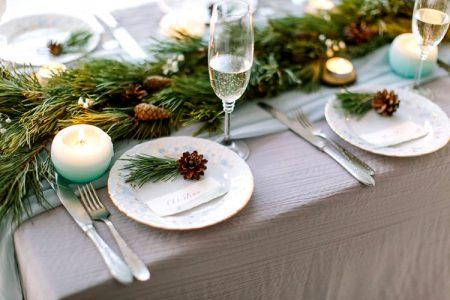ゲストテーブル(冬)