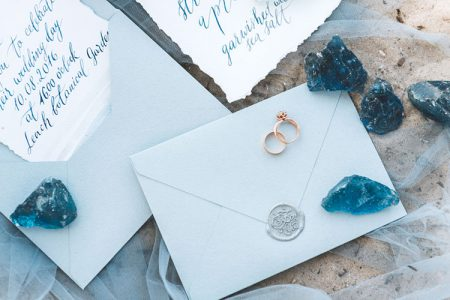 結婚式の招待状(夏挙式)