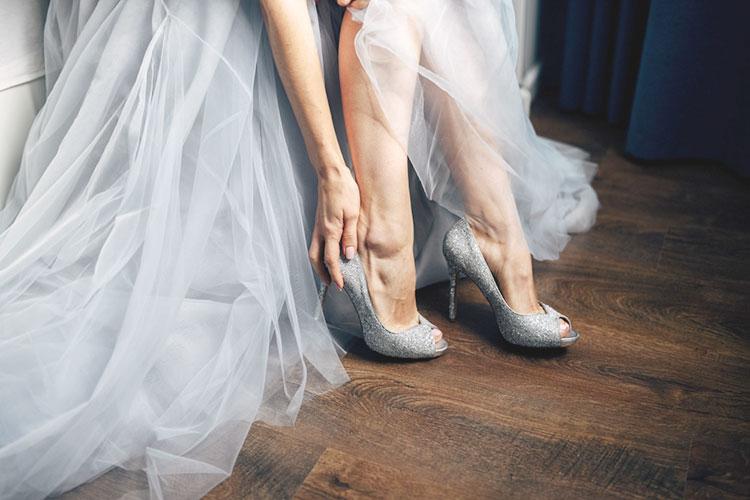 結婚式後も履きたい!日常使いOKのウェディングシューズ