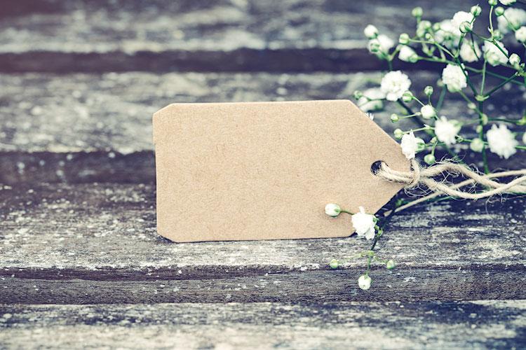 花嫁DIY!簡単おしゃれな海外の『席札タグ』アイディア集