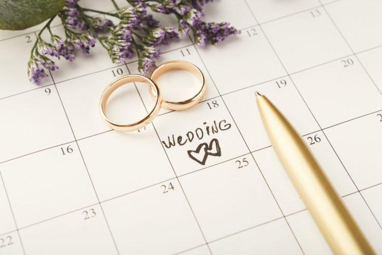 結婚スケジュール