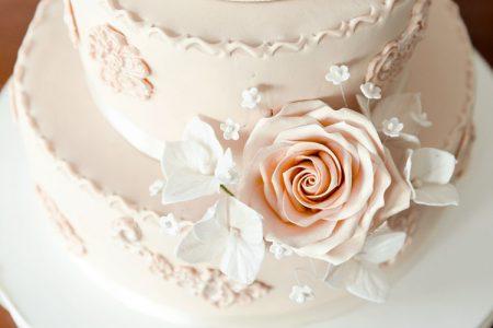 春挙式にぴったりなウェディングケーキ