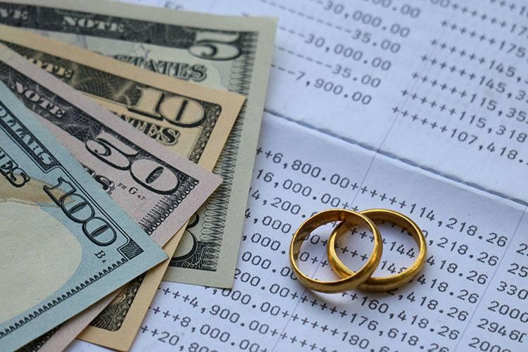 結婚指輪とお金